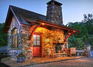 This Small House This Old House Stone Cottage Builder